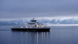 Norway's Havyard Group ASA is filling 13 orders for zero-emission ferries received since 2016 (Photo: Carina Johansen/Bloomberg)