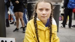 "Climate activist Greta Thunberg: ""You are never too small to make a difference."""