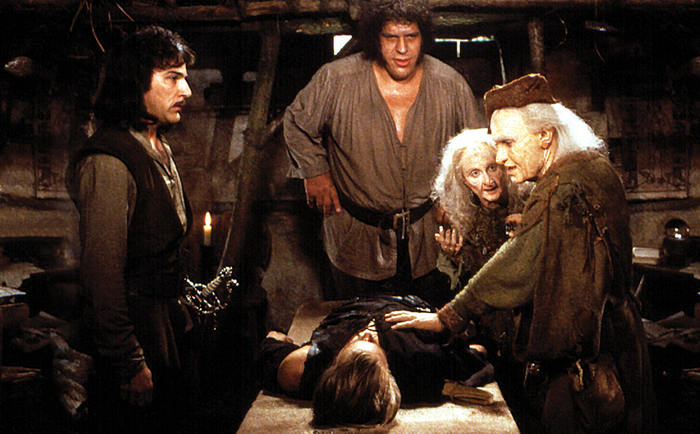 "In this prescient scene from ""The Princess Bride,"" Valerie (Carol Kane) and Miracle Max (Billy Crystal) squabble over whether bipartisanship can be easily resuscitated."