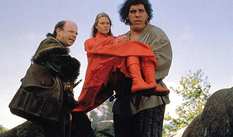 "By definition, the Green New Deal is not inconceivable. From ""The Princess Bride:"" Wallace Shawn, Robin Wright, and Andre the Giant."