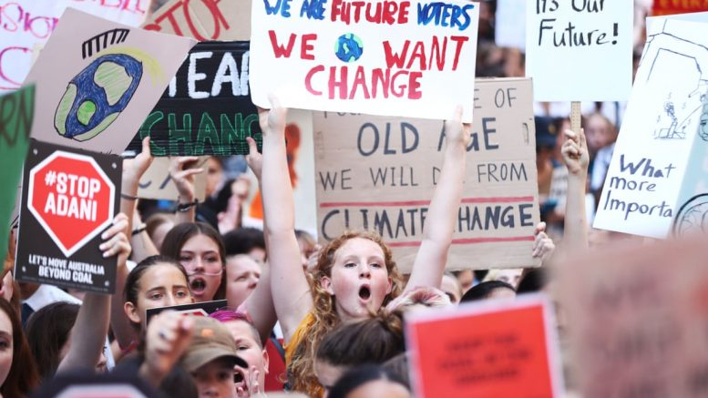 Across the globe, youth lead a day of protest for urgent action on the climate emergency.